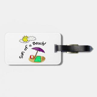 Sun of a Beach Travel Bag Tags