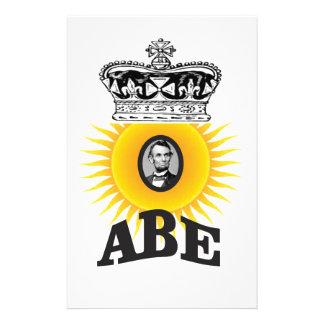 sun of abe art nice stationery