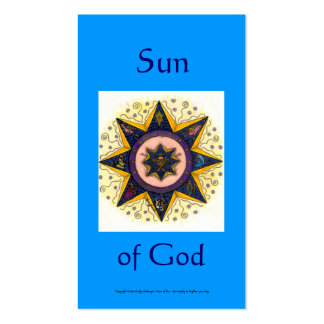 Sun of God Series #7 Business Cards