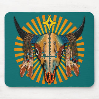 Sun of Morning Star Mouse Pad