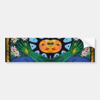 sun of the green king bumper sticker