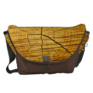 Sun of Wood Courier Bag