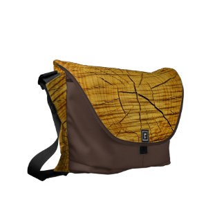 Sun of Wood Messenger Bag