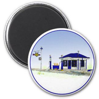 Sun Oil Station Refrigerator Magnets