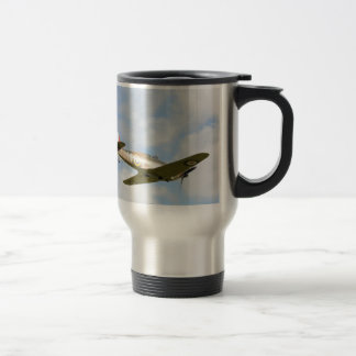 Sun On A Hawker Hurricane Travel Mug
