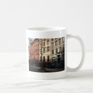 Sun on St. Mark's Place, East Village, NYC Classic White Coffee Mug
