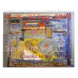 Sun on the Wall, Sun on the Wall, Cracks in the... Calendar