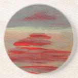 Sun on the Water Ocean Sunset Sunrise Seascape Drink Coaster