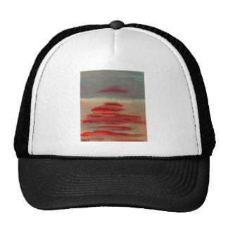 Sun on the Water Ocean Sunset Sunrise Seascape Mesh Hat