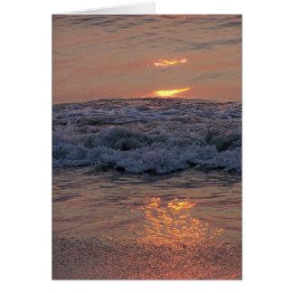 Sun on Waves Card