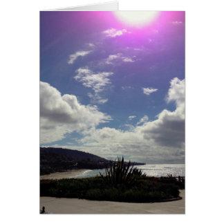Sun over Laguna Beach Stationery Note Card
