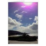 Sun over Laguna Beach Greeting Cards