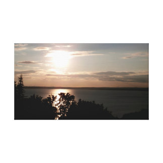 Sun Over the Bay Canvas Print