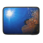 Sun over the coral reef MacBook pro sleeve