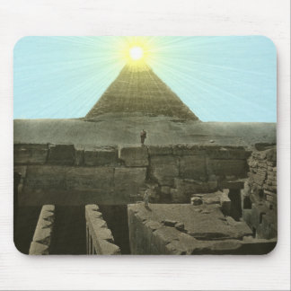 Sun Over the Great Pyramid Mousepad
