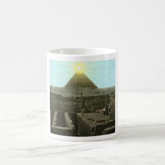Sun Over the Great Pyramid Mug