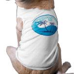 sun-palm-tree-vector-2 camisetas de mascota