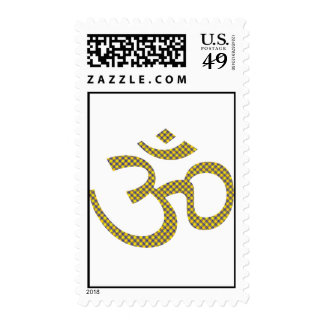 Sun patterened OM o Aum ॐ png Sello