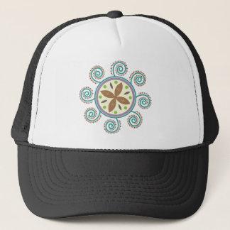 Sun Pattern Trucker Hat