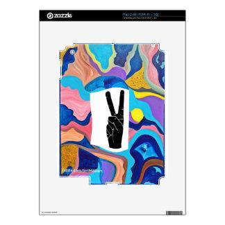 Sun Peace iPad 2 Decals