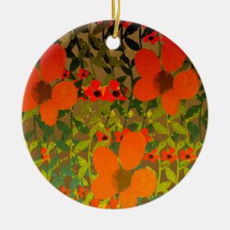 Sun Petals Ceramic Ornament