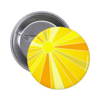 Sun Pinback Button