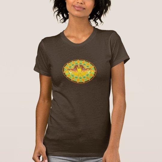 Sun Ponies Dream Catcher Ladies T-Shirt
