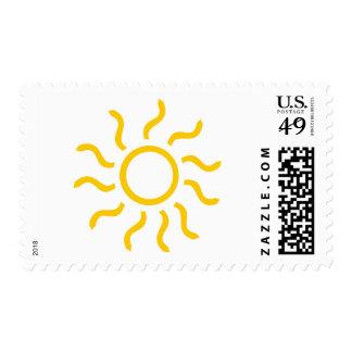 Sun Postage Stamp