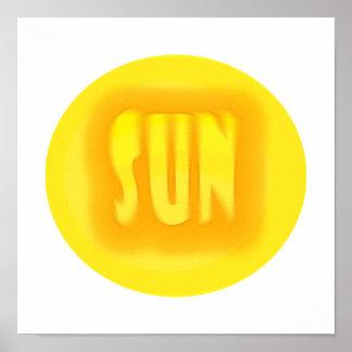 ¡Sun Poster