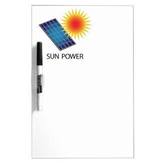 Sun Power Dry-Erase Board
