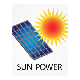 Sun Power Letterhead