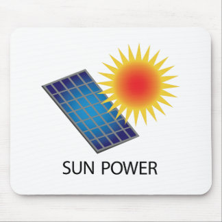 Sun Power Mouse Pad