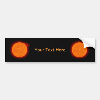 Sun Prominence Bumper Sticker