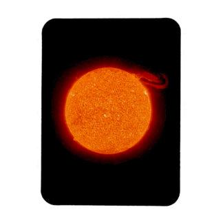 Sun Prominence Rectangular Photo Magnet