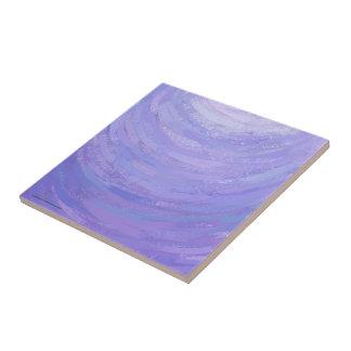 Sun púrpura azulejo cuadrado pequeño