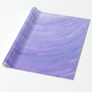 Sun púrpura papel de regalo