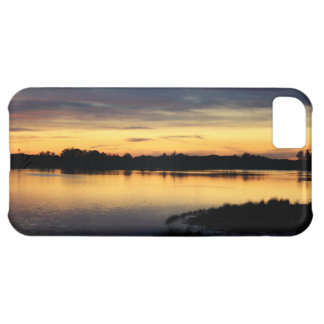 Sun putting in the lagoon of the Dew, Doñana Case For iPhone 5C
