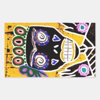 Sun Queen Sugar Skull Angel Sticker