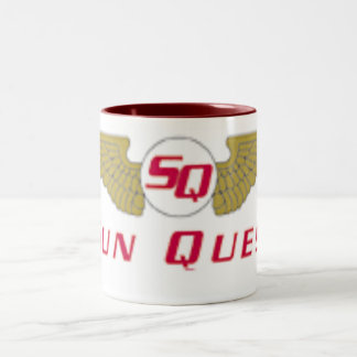 Sun Quest Aviation Two-Tone Coffee Mug