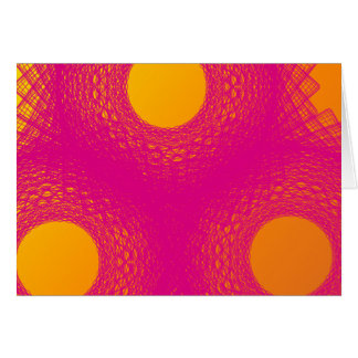 Sun radiates purple lights greeting cards