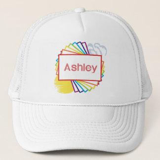 Sun & Rainbow for Ashley Trucker Hat