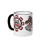 Sun Raven Moon Ringer Coffee Mug