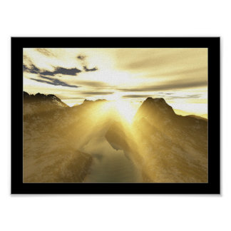Sun Ray Print