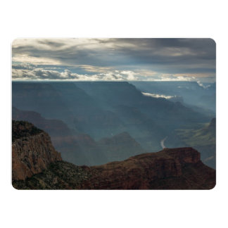 Sun Rays at Hopi Point Grand Canyon, Arizona Card