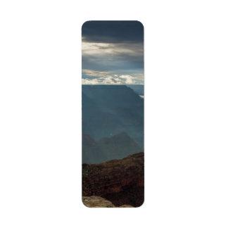 Sun Rays at Hopi Point Grand Canyon, Arizona Label