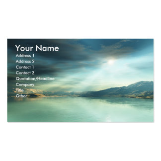 Sun Rays Business Card
