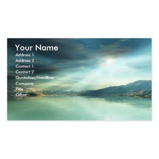 Sun Rays Business Card Templates