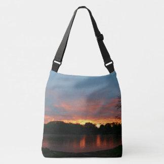 Sun Rays Sunrise Crossbody Bag