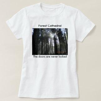 Sun rays through the trees T-Shirt