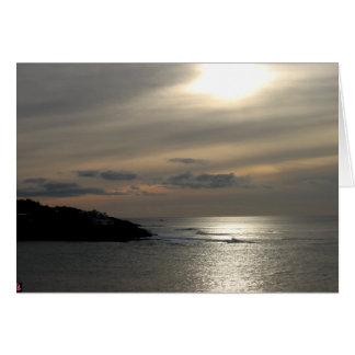 Sun Reflects Greeting Card